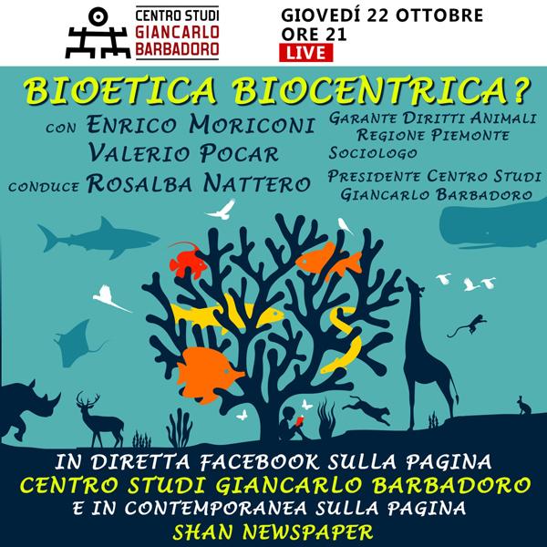 Centro-Studi-Giancarlo-Barbadoro-Conferenza-online-Bioetica-Biocentrica - 22 ottobre 2020 / --