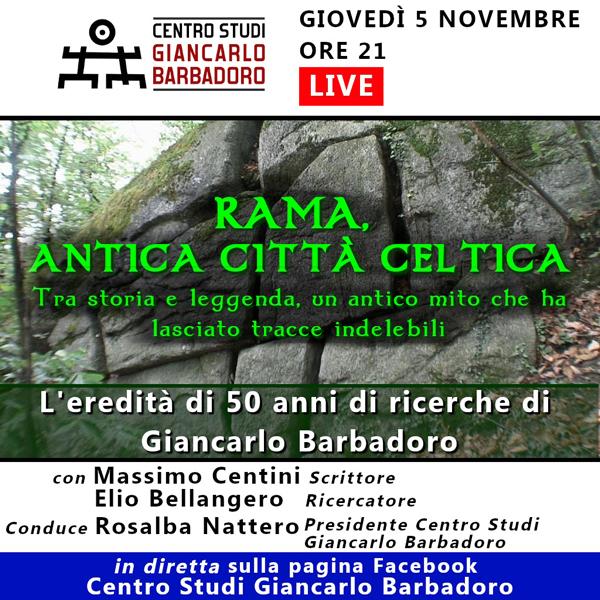 "Conferenza online ""Rama, Antica Città Celtica"""