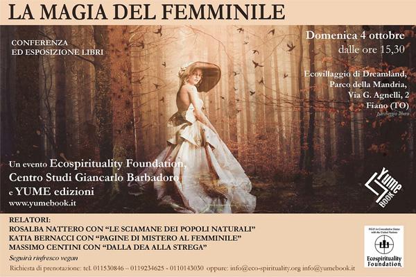 Centro Studi Giancarlo Barbadoro Convegno La magia del femminile - 4 ottobre 2020