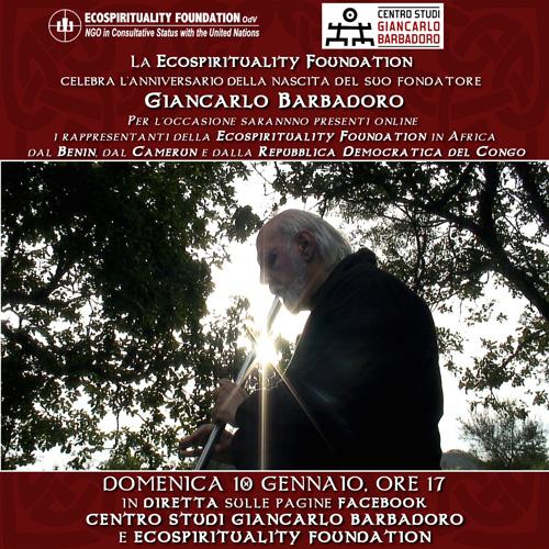 Ricordando Giancarlo Barbadoro - Diretta Facebook Centro Studi Giancarlo Barbadoro - Domenica 10 gennaio 2021, ore 17